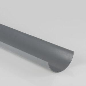 Grey Half Round Gutter