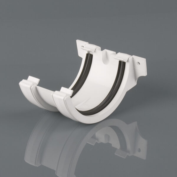 Joint Bracket Roundstyle Arctic White