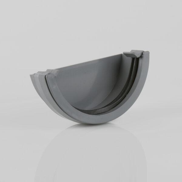 External Stopend Roundstyle Grey Brett Martin