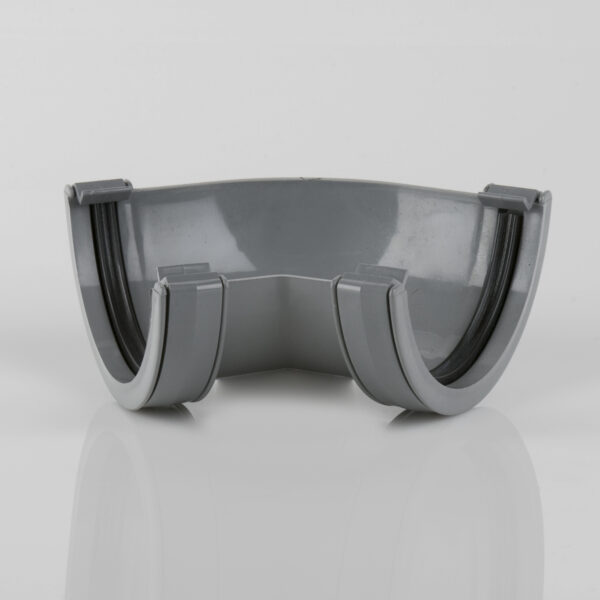 135° Gutter Angle Roundstyle Grey