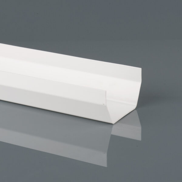 BR51/52A Arctic White Squarestyle Gutter