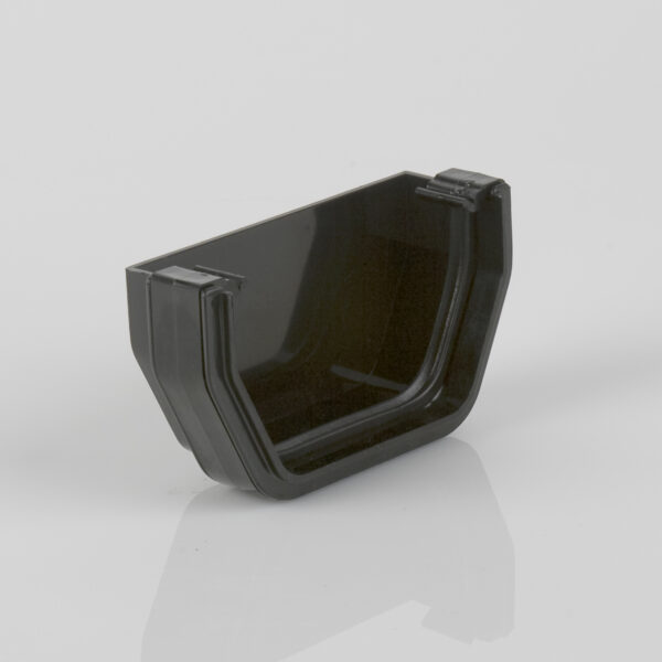 External Stopend Squarestyle Black