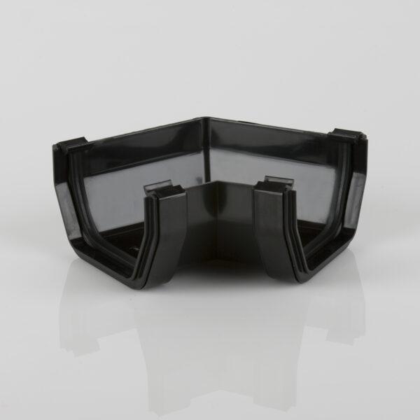 120° Gutter Angle Squarestyle Black