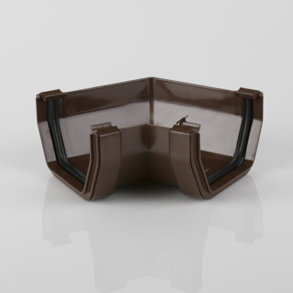 120° Gutter Angle Squarestyle Brown