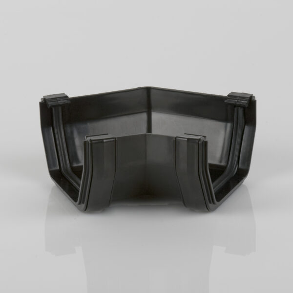 135° Gutter Angle Squarestyle Black