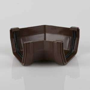 135° Gutter Angle Squarestyle Brown