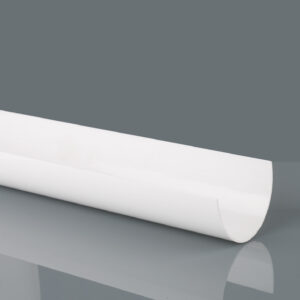 Arctic White Deepstyle Gutter