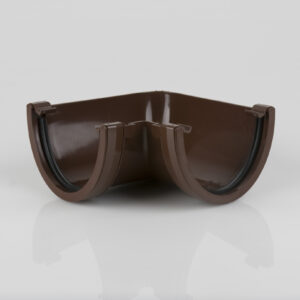 90° Gutter Angle Deepstyle Brown