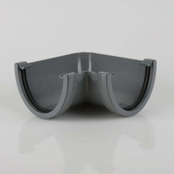 90° Gutter Angle Deepstyle Grey
