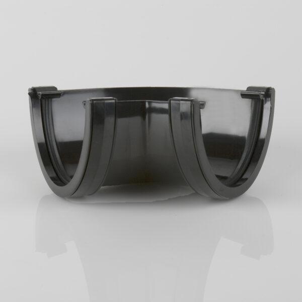 120° Gutter Angle Deepstyle Black