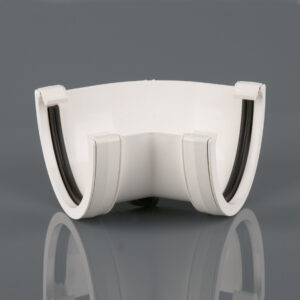 135° Gutter Angle Deepstyle White