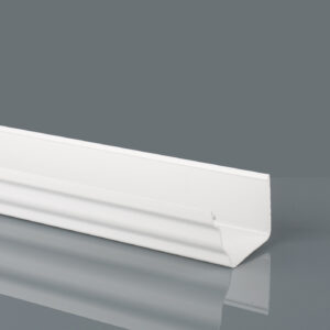 Prostyle Ogee Arctic White Gutter