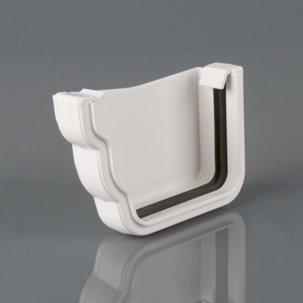 Left Hand External Stopend Prostyle Ogee Arctic White