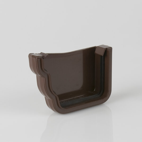 Left Hand External Stopend Prostyle Ogee Brown