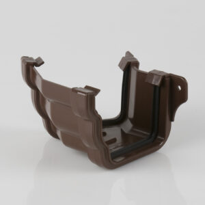 150° External Gutter Angle Prostyle Ogee Brown