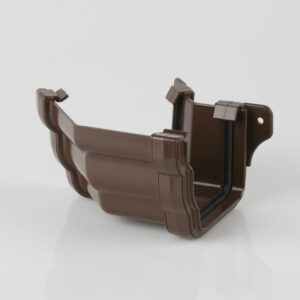135° External Gutter Angle Prostyle Ogee Brown