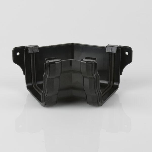 135° Internal Gutter Angle Prostyle Ogee Black