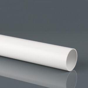 2.5m, 4m, 5.5m 68mm Round Downpipe Arctic White