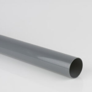 2.5m, 4m, 5.5m 68mm Round Downpipe Grey
