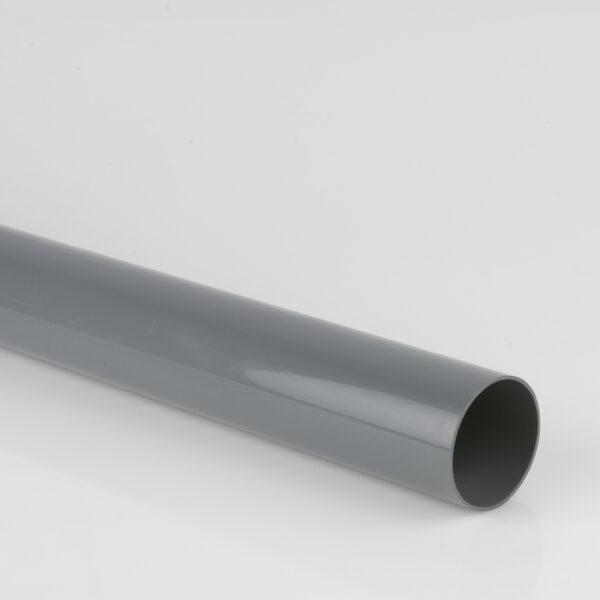 2.5m, 4m, 5.5m 68mm Round Downpipe Grey