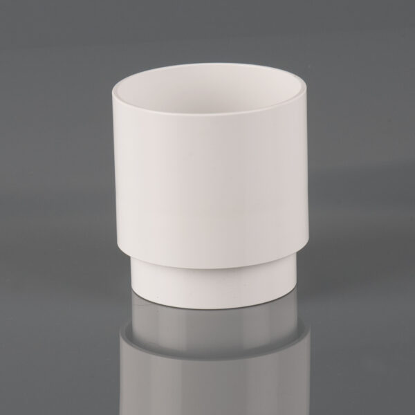 68mm Round Downpipe Connector Arctic White