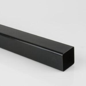 2.5m, 4m, 5.5m 65mm Square Downpipe Black