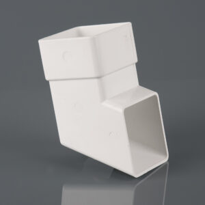 Square Downpipe Shoe Arctic White