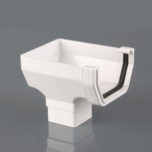 Stopend Outlet Squarestyle Arctic White