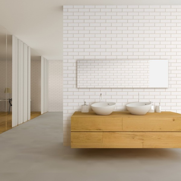 London Tile Shower Panel Display Room