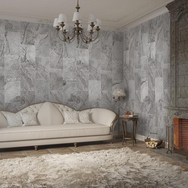 Trezzano Black (Gloss) Shower Panel Display Room