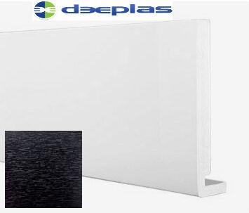 Deeplas Square Fascia Black Ash Swatch