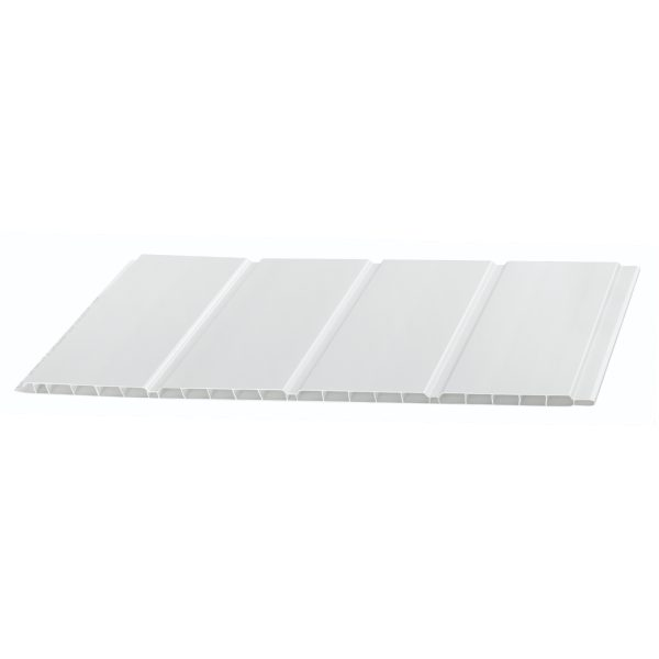 100mm, 300mm & 400mm Hollow Soffit Board White