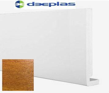 Deeplas Square Fascia Golden Oak Swatch