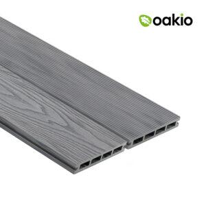 Oakio Smoke White Composite Decking