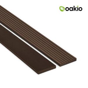 Oakio Dark Brown Composite Fascia