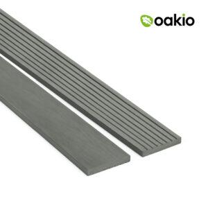 Oakio Smoke White Composite Fascia