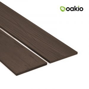 Oakio Dark Brown Composite Fascia