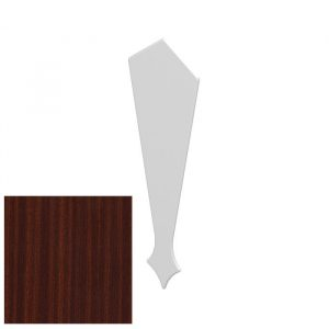 Decorative Barge Board Finial Mahogany