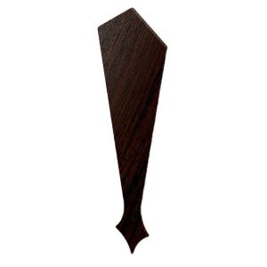 Decorative Barge Board Finial Rosewood