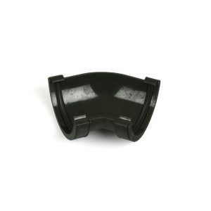 135° Gutter Angle Roundstyle Cast Iron Effect Black