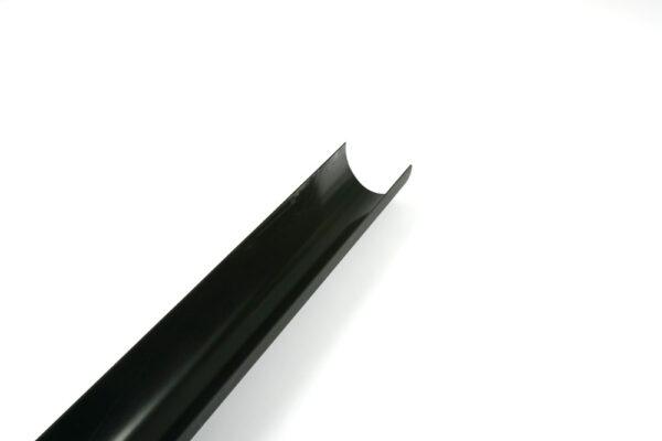 Black 4m Deepstyle Cast Iron Effect Gutter