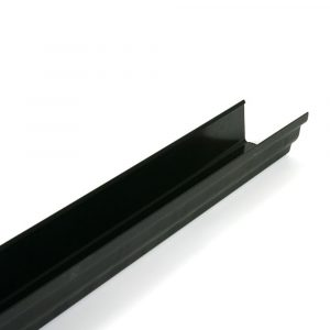 Black Prostyle Cast Iron Effect Gutter