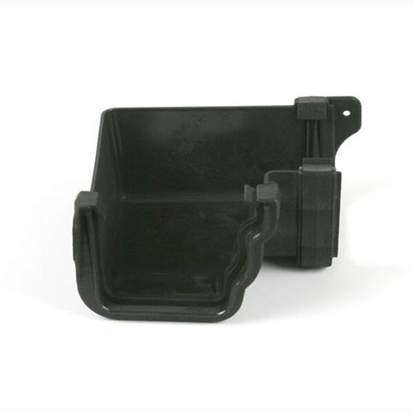 90° Internal Gutter Angle Prostyle Cast Iron Effect Black