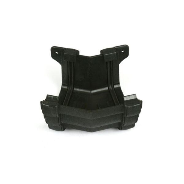 150° External Gutter Angle Prostyle Cast Iron Effect Black