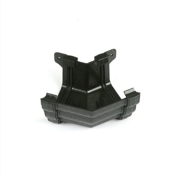 135° External Gutter Angle Prostyle Cast Iron Effect Black