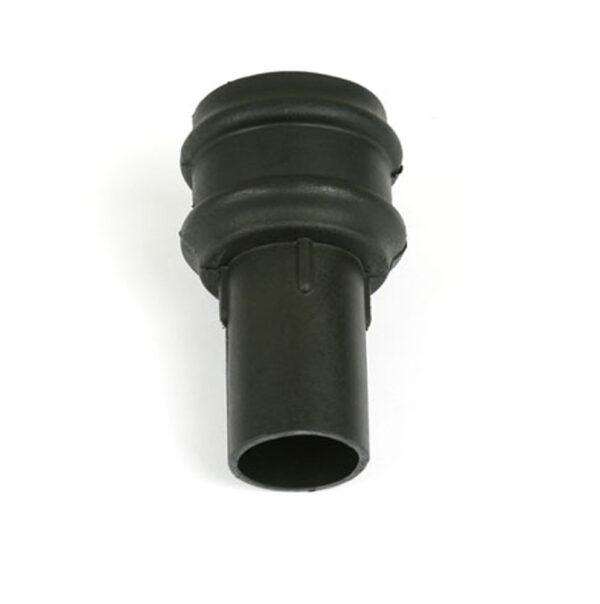 Plain Coupler Cast Iron Effect Black