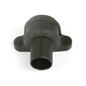 Pipe Coupler With Lugs Cast Iron Effect Black