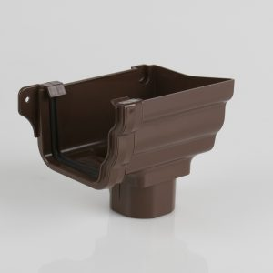 Right Hand Stopend Outlet Prostyle Ogee Brown