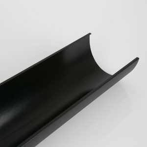 2m & 4m Gutter Deepstyle Industrial Cast Iron Effect Black