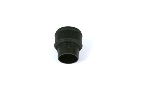 Plain Coupler Industrial Cast Iron Effect Black